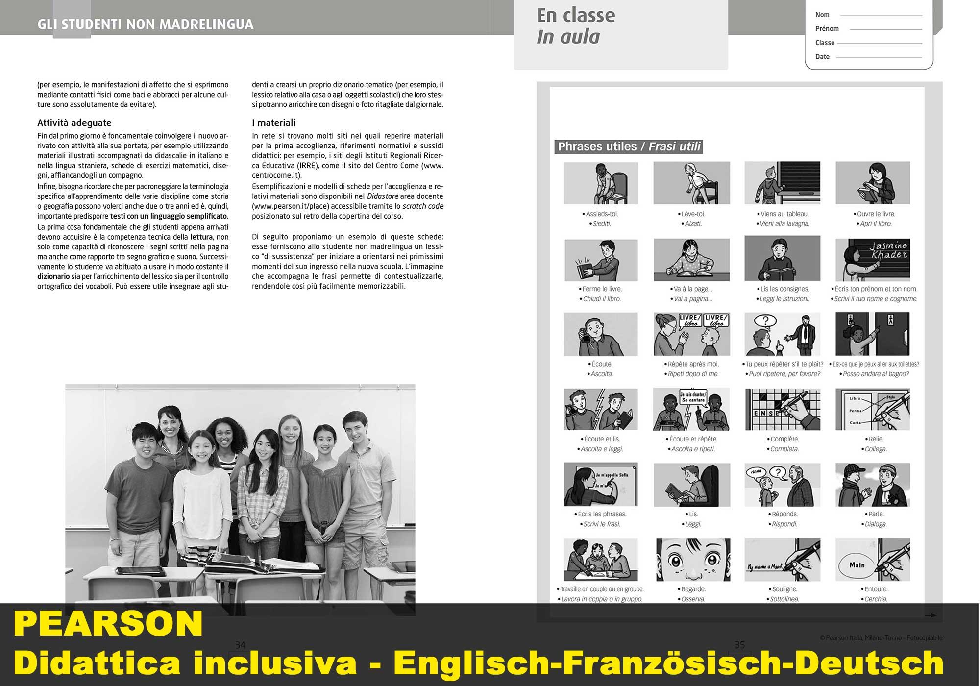Englisch-Französisch-Deutsch