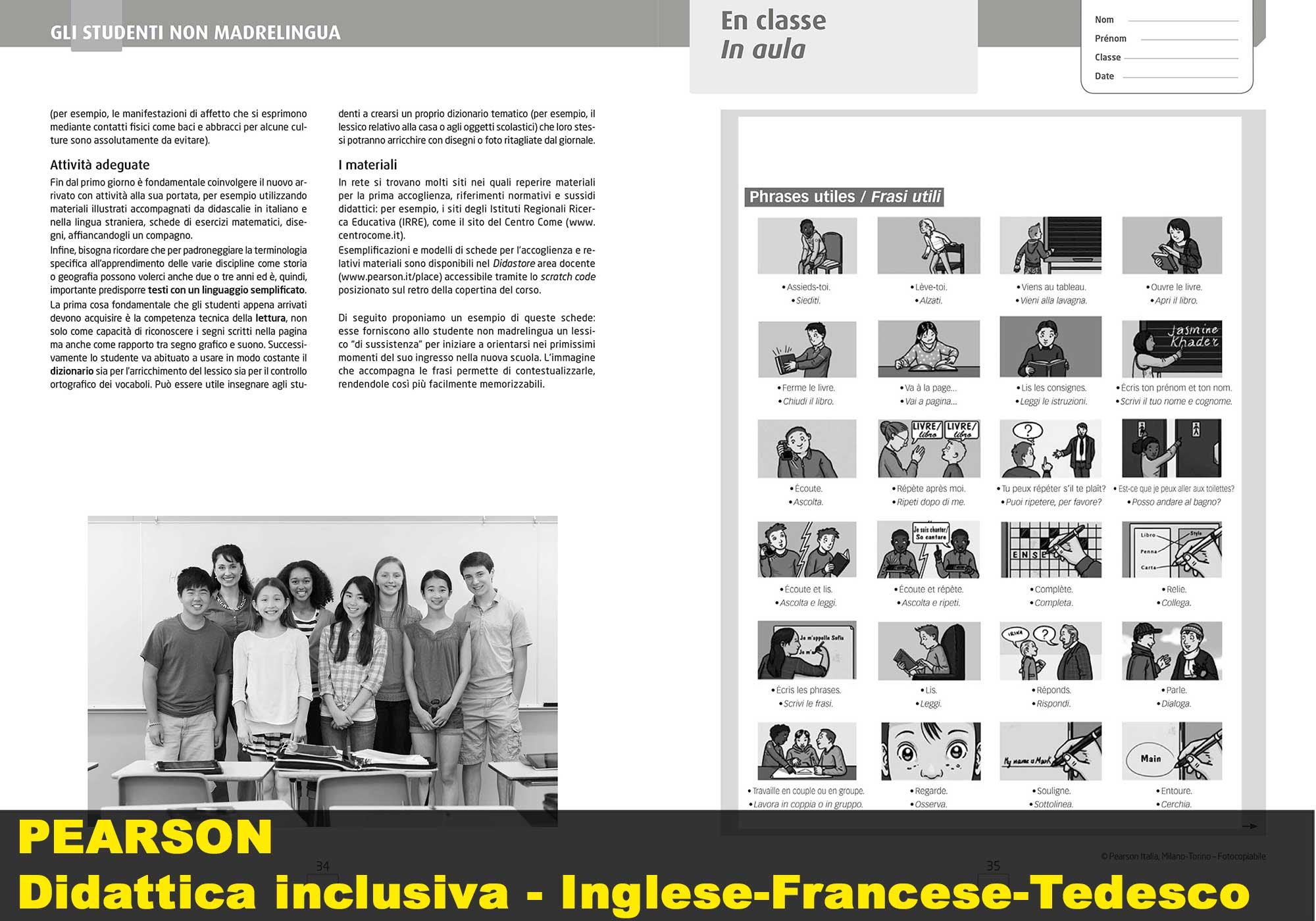 Inglese-Francese-Tedesco